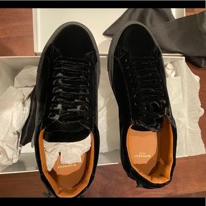 Givenchy Suede Sneakers Black